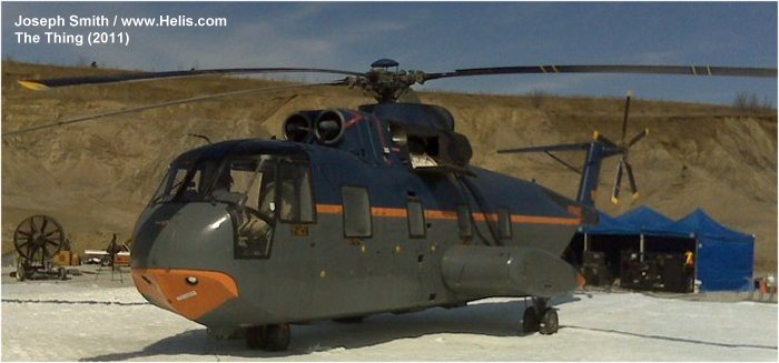 Helicopter Sikorsky HH-3F Pelican Serial 61-657 Register 1480 used by US Coast Guard USCG. Aircraft history and location