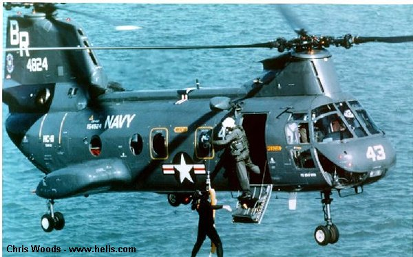 US Navy 107M H-46 Sea Knight