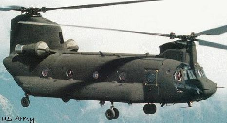 US Army Aviation CH-47 Chinook
