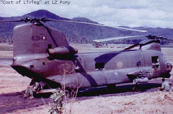 Boeing-Vertol ACH-47A Guns A Go-Go