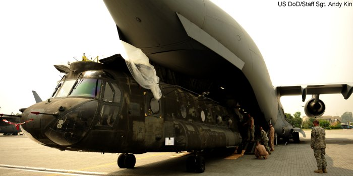 CH-47 on C-17