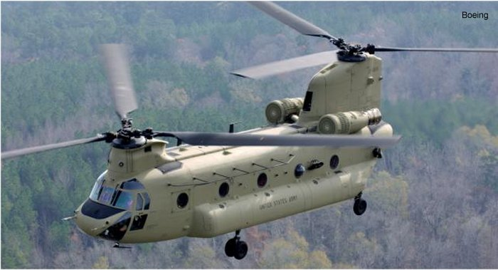 US Army Aviation CH-47F Chinook