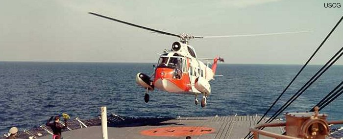 US Coast Guard HH-52A Sea Guard