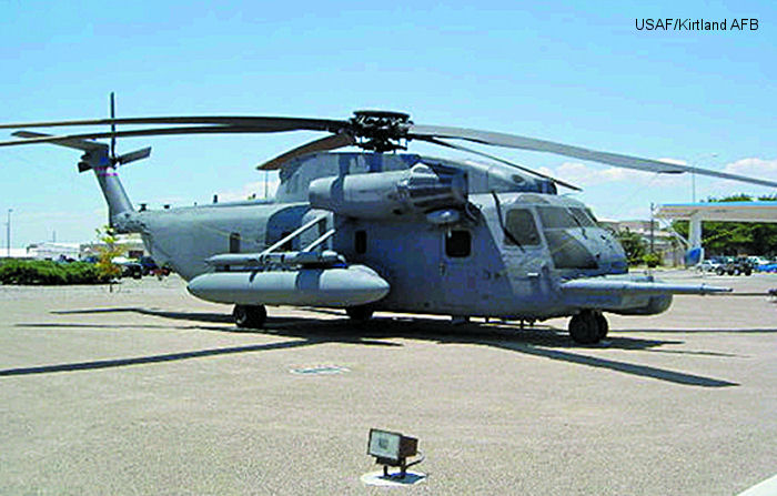 Helicopter Sikorsky HH-53B Serial 65-088 Register 66-14433 used by US Air Force USAF. Aircraft history and location