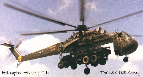 US Army Aviation S-64 CH-54