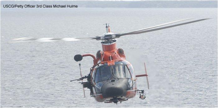 us coast guard hh 65 dolphin