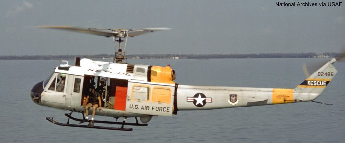 US Air Force HH-1H Iroquois