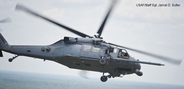 Sikorsky HH-60G Pave Hawk c/n unknown