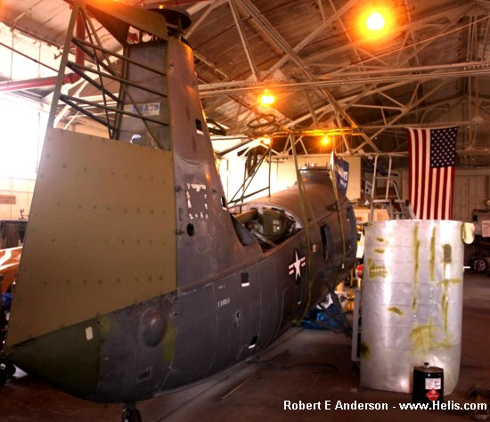 Helicopter Piasecki HUP-2 / UH-25B	 Retriever Serial 236 Register N88949 130059 used by US Navy USN (United States Naval Aviation). Built 1954. Aircraft history and location