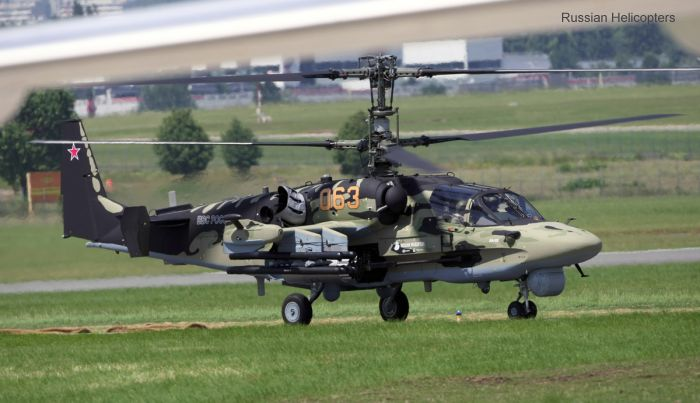 Russian Helicopters ka-52 alligator c/n 3538264800003