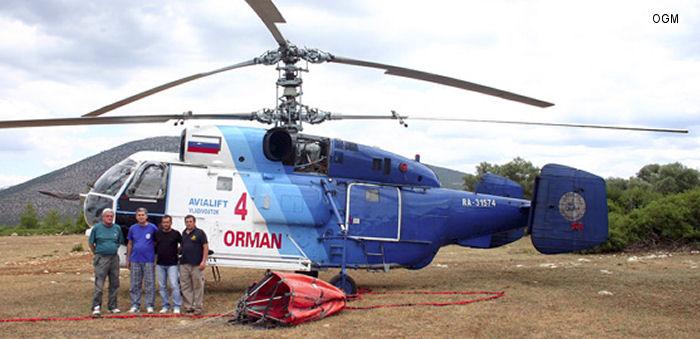 Elicottero Ka 32 : Ra kamov ka c n