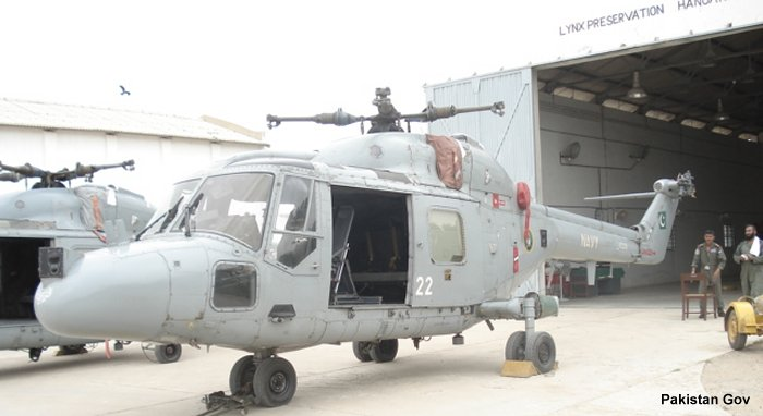 Pakistan Navy Lynx