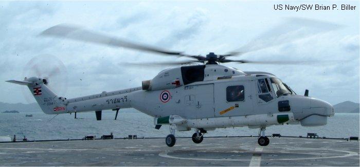 Super Lynx mk110 in Royal Thai Navy