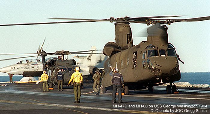 Boeing MH-47D Chinook