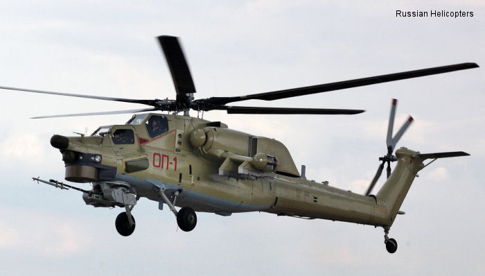 Russian Helicopters Mi-28 Havoc