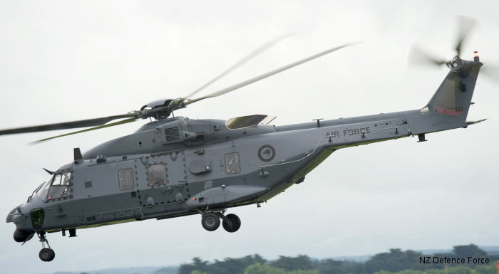 Royal New Zealand Air Force NH90 TTH