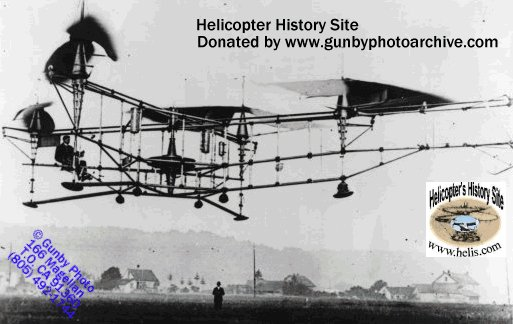 Oehmichen helicopter inventor
