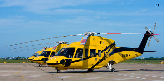 S 76 In Phi Inc Helicopter Database