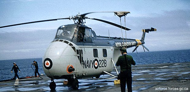 Royal Canadian Navy  (1945-1968) S-55 H-19