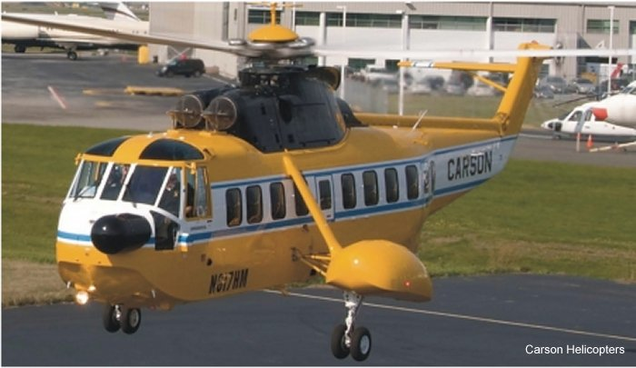 Carson Helicopters S-61 H-3