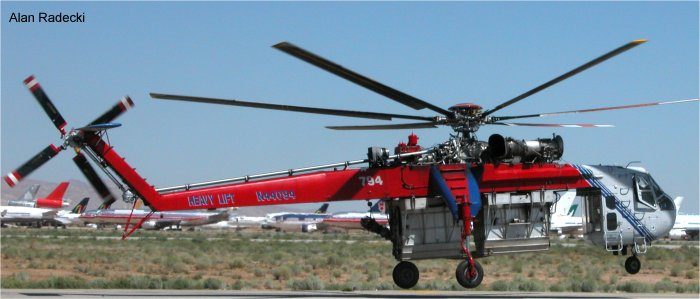 Heavy Lift Helicopters S-64 CH-54