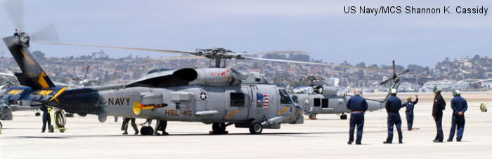 Helicopter Anti-Submarine Squadron Light 45 US Navy