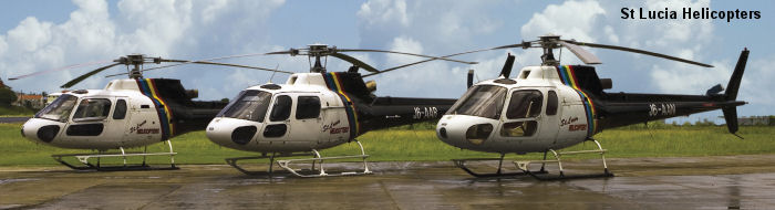 St Lucia helicopters