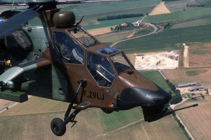Eurocopter Tiger / Tigre c/n PS1