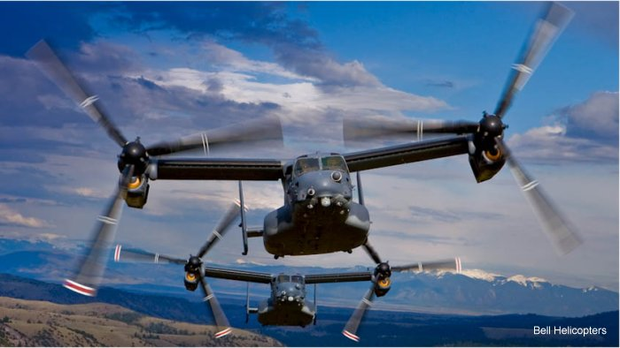 US Air Force v-22 Osprey