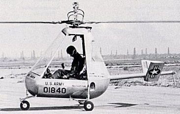 XH-26 Helicopters 1950s