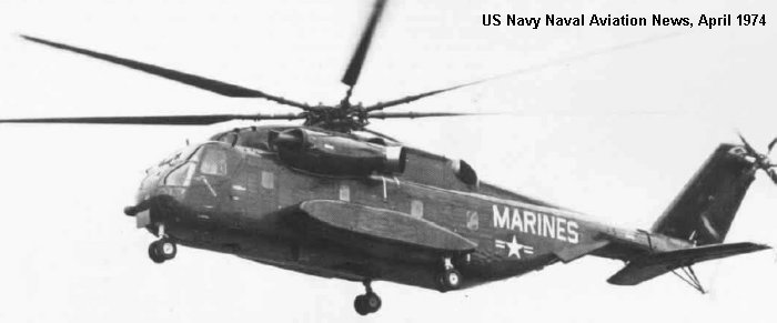 Sikorsky YCH-53E c/n 65-391