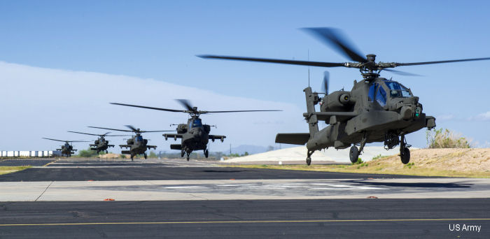 US Army Aviation AH-64E Apache