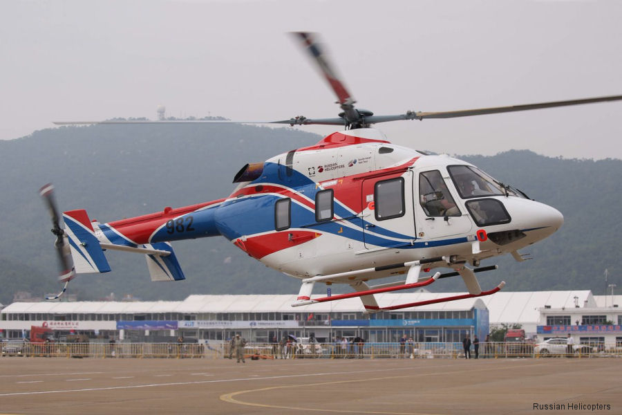 Russian Helicopters Ansat c/n unknown