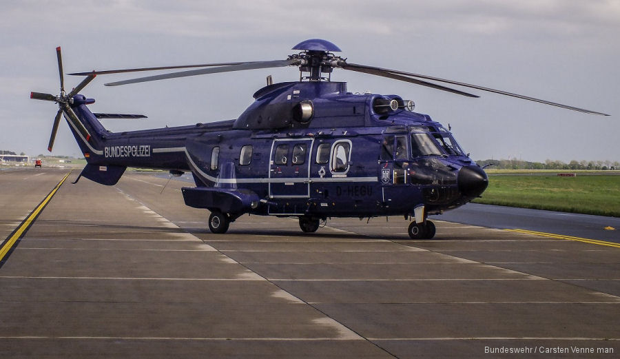 Aerospatiale AS332L Super Puma c/n 2017