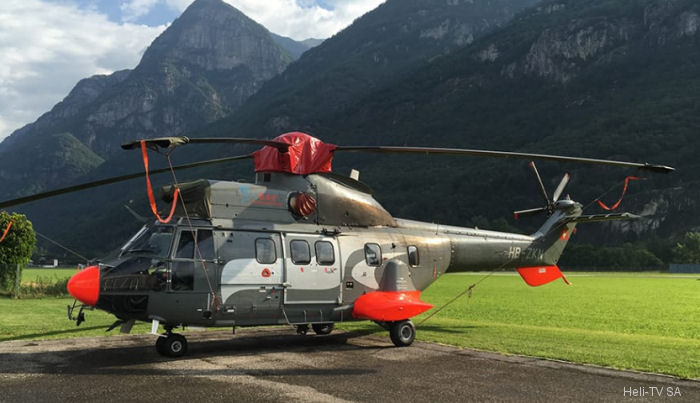 Eurocopter AS332C1 Super Puma c/n 9010