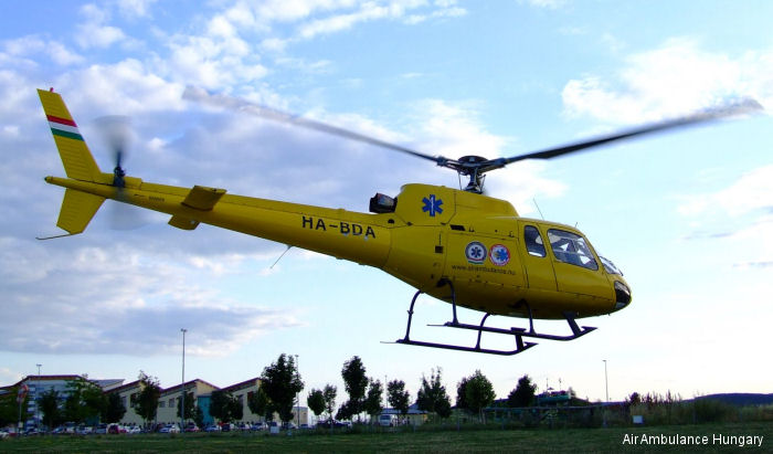Aerospatiale AS350B2 Ecureuil c/n 2472