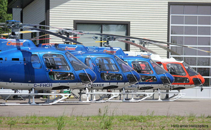 Helicopteres Helicarrier Inc AS350 Ecureuil