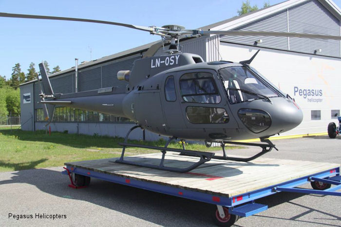 Eurocopter AS350B3e Ecureuil c/n 7593