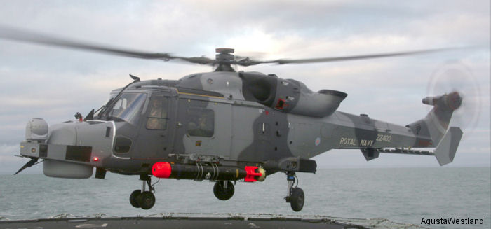 Fleet Air Arm AW159 Wildcat HMA2