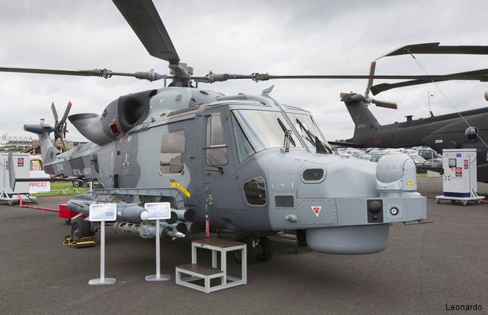 Helicopter AgustaWestland AW159 Wildcat HMA2 Serial 485 Register ZZ415 used by Fleet Air Arm (Royal Navy). Aircraft history and location