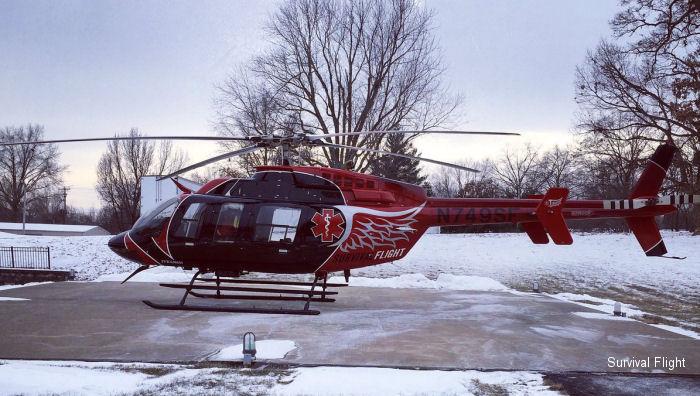 N386t N407ll N749sf Bell 407 C N 53561