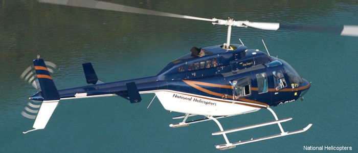 National Helicopters Inc 206