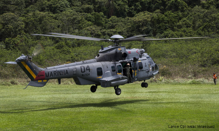 Eurocopter EC725 Caracal c/n unknown