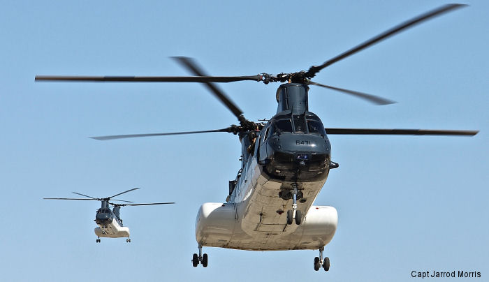US Department of State 107M H-46 Sea Knight