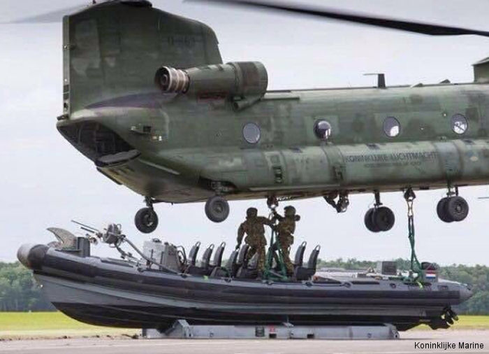 Photos of CH-47D Chinook in Royal Netherlands Air Force helicopter service.