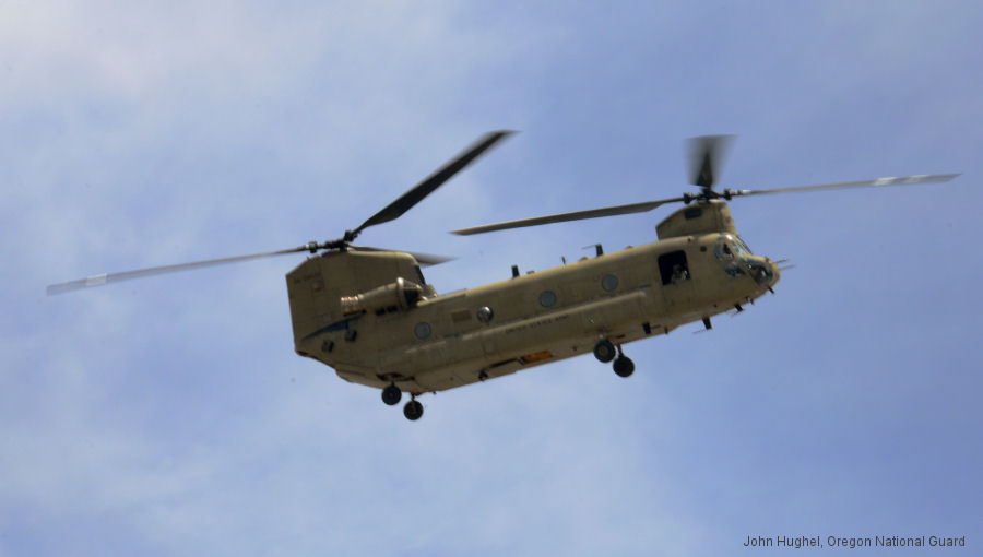 Helicopter Boeing CH-47F Chinook Serial M.8030 Register 06-08030 used by US Army Aviation. Aircraft history