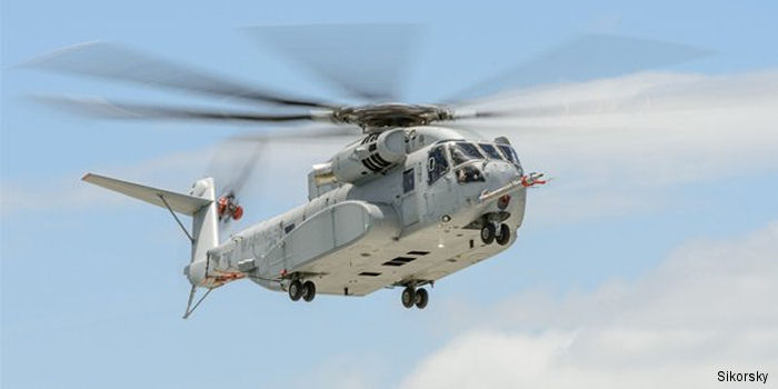 Sikorsky CH-53K King Stallion c/n unknown