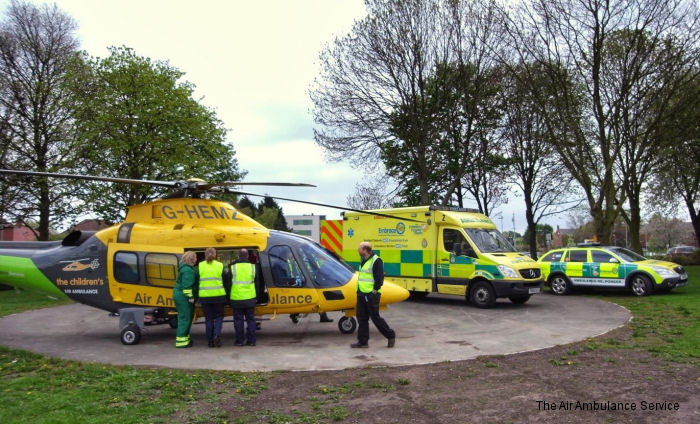 Children Air Ambulance UK Air Ambulances