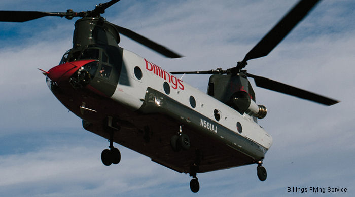 Billings Flying Service CH-47D Chinook