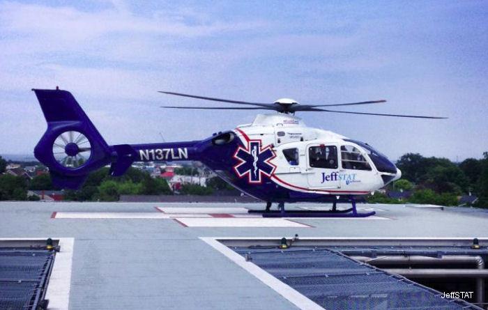 N111HN N137LN Eurocopter EC135P2 C/N 0339